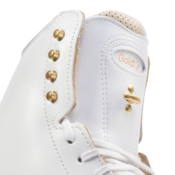 1375 Gold Star White Boot