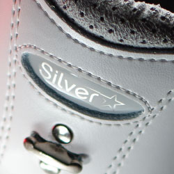 875 Silver Star White Boot